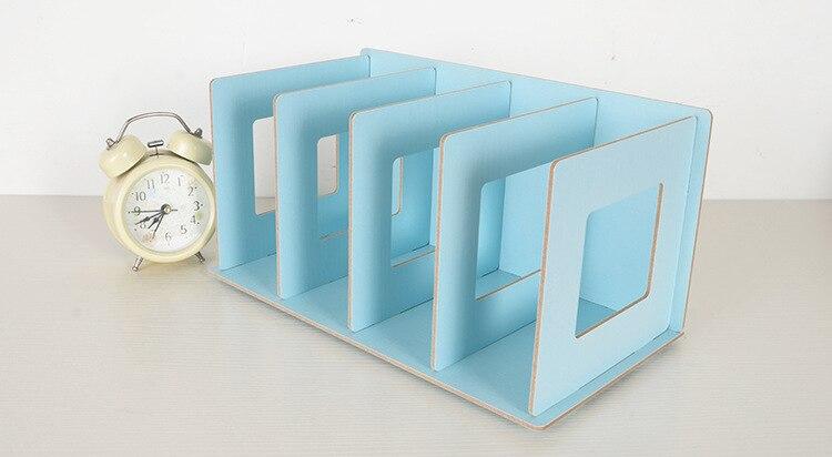 Nieuwe creatieve kleurrijke houten diy multifunctionele boek