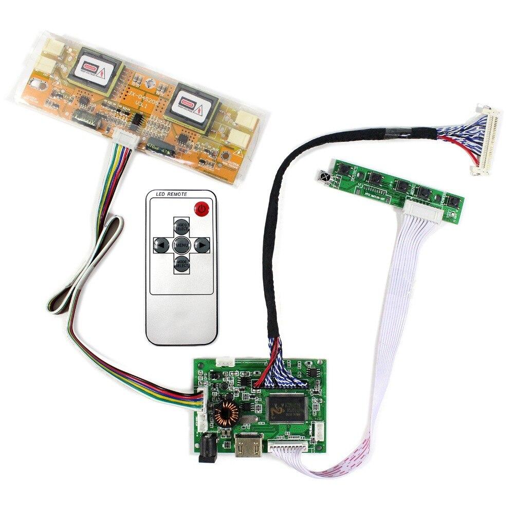 HDMI + Audio LCD Carte Contrôleur Pour 17 pouces 19 pouces 1280x1024 LTM170E8 M170EG02 HSD190MEN4 M190EN01 LCD Écran
