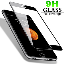 9H Curved Edge Full Cover Phone Screen Protector For iPhone 7 6 6S 8 Plus Tempered Glass On iPhone X XS Max XR Protective Glass цены