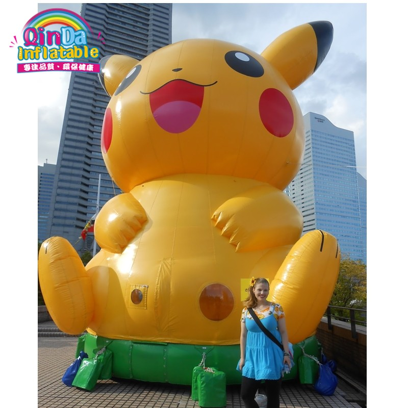 inflatable pikachu inflatable pokemon60