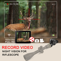NV007 PARD Infrared IR Digital Night Vision Hunting Rifle Scope Telescope With Wifi HD Day and Night Use Camero Video Sim Card