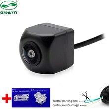 Объектив «рыбий глаз», специальный светильник для номерного знака, монтажный кронштейн, Автомобильная камера заднего вида для Benz A B C E S GLK GLC ML CLS Class