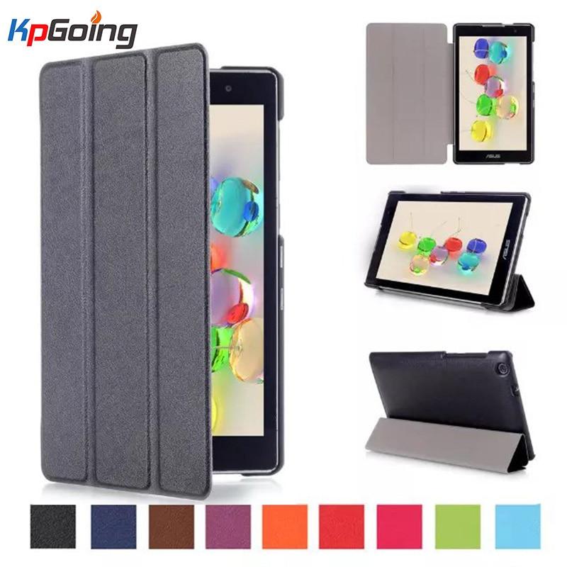 Super New Original Quality Folio Folding Flip PU Leather Case For Asus ZenPad C 7.0 Z170 Z170MG Z170CG P01Y black Pink Cover Bag protect защитная пленка для asus zenpad c 7 0 z170cg матовая