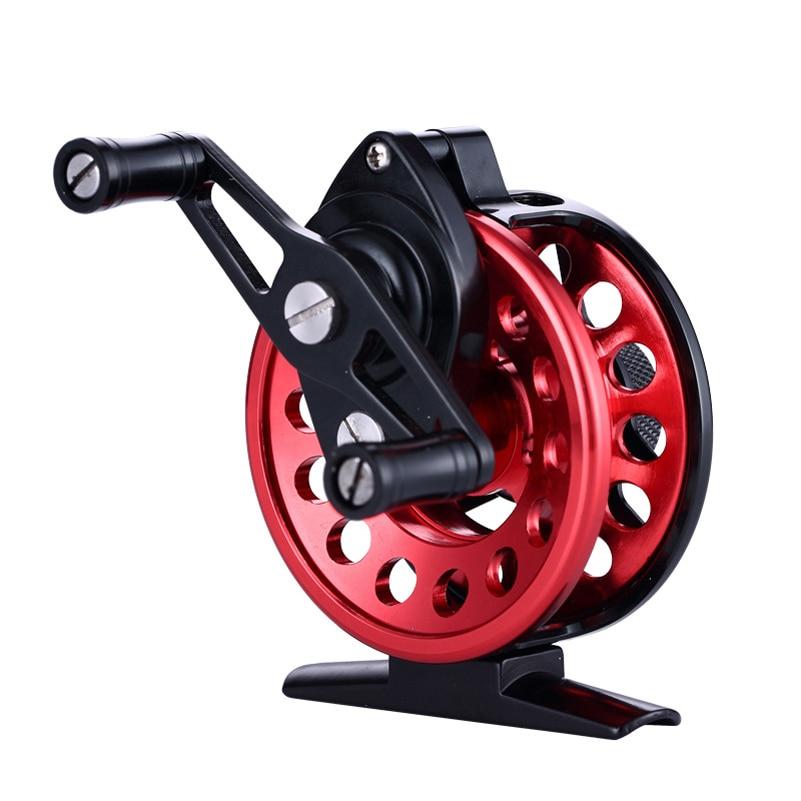 YUYU Fly Fishing reel Full metal Aluminum 2+1BB Reel Gear ratio 2.6:1 Hand exchangable Raft Fishing Reel Fly Fish line wheel