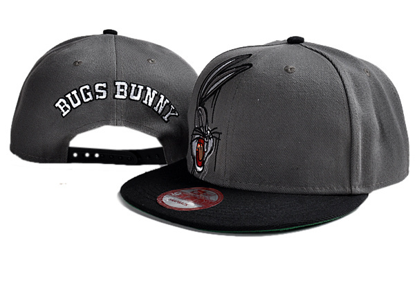 BUGS BUNNY Snapback Caps black two different styles classic cartoon hats  wholesale   dropshipping Freeshipping ! 8f8def1921d