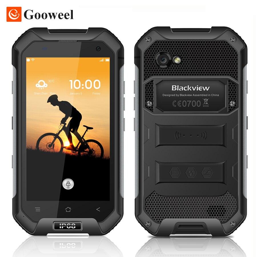 "Цена за Blackview BV6000 Смартфон 4 Г LTE Водонепроницаемый IP68 4.7 ""HD MT6755 Окта основные Android 6.0 Мобильный Сотовый Телефон 3 ГБ RAM 32 ГБ ROM 13MP"