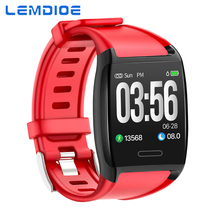 LEMDIOE Activity Tracker Heart Rate Smart Band Fitness Tracker Activity Bracelet Sport Smart Wristband Sleep monitor IOS Android