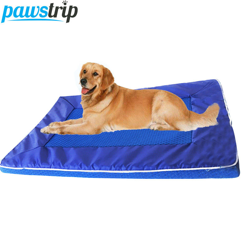 S//M//L Pet Dog Cat Bed Mat Puppy Cushion House Breatherable Kennel Pad Summer G