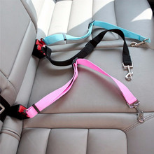 Cat Dog Pets Safety Car Vehicle Strap Seatbelt Seat Belt Adjustable Harness Lead Dog Leash Collar Pet Accessories Pet Supplies недорого