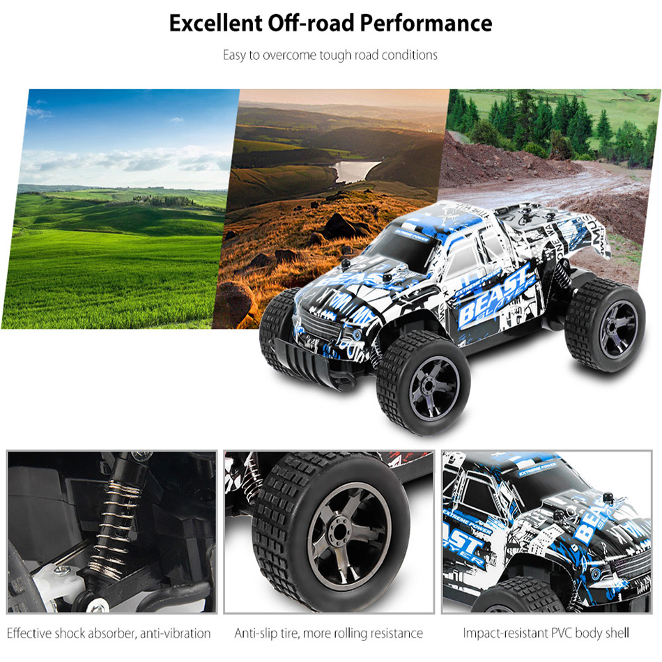 New RC Car UJ99 2.4G 20KM/H High Speed Racing Car Climbing Remote Control Carro RC Electric Car Off Road Truck 1:20 RC drift