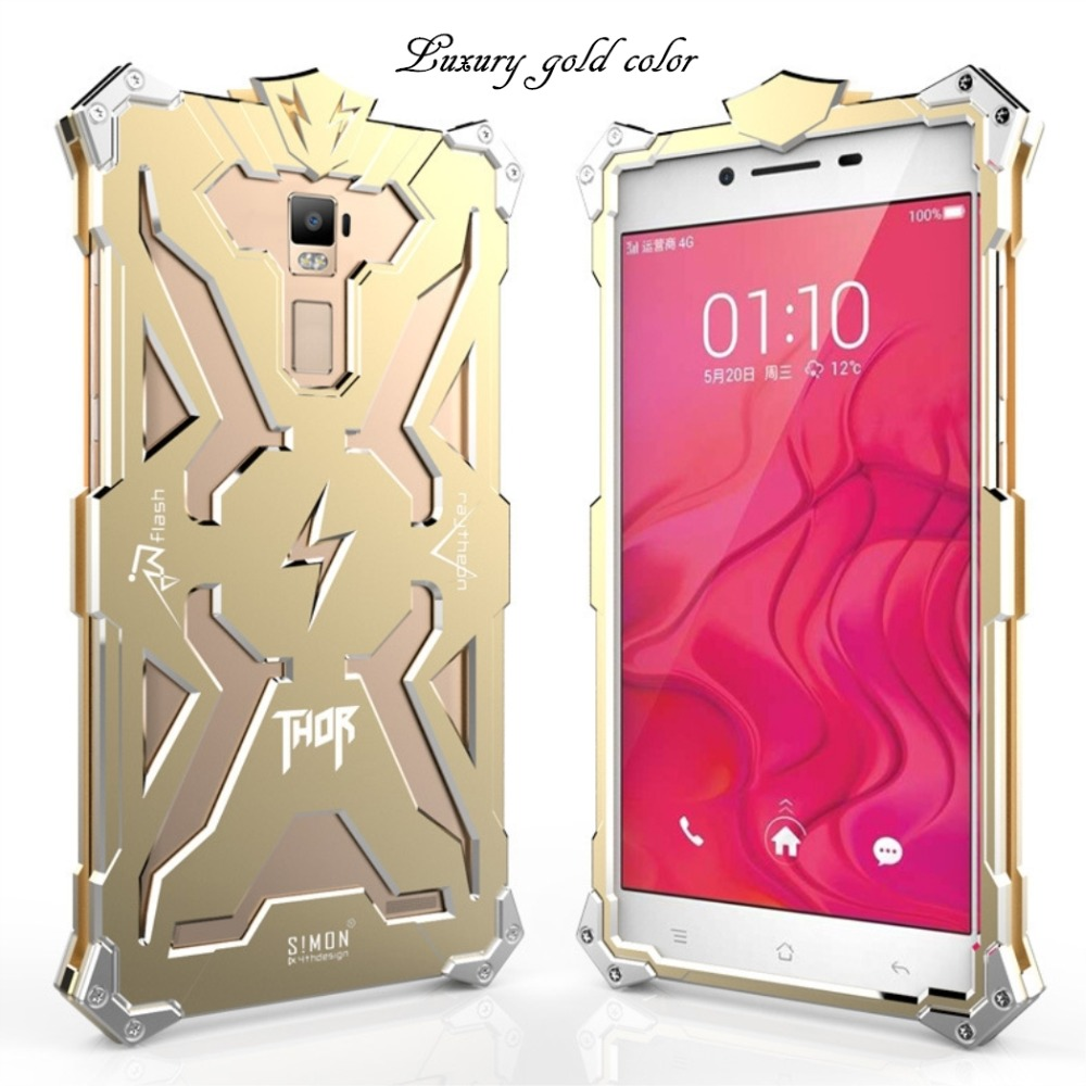 new styles bb12c b0a60 US $35.0 |Phone Cases For OPPO R7 Plus Thor Waterproof Case Cover Lron Man  Mobile Phone Accessories Metal edge Coque Cool Protector SL48 on ...
