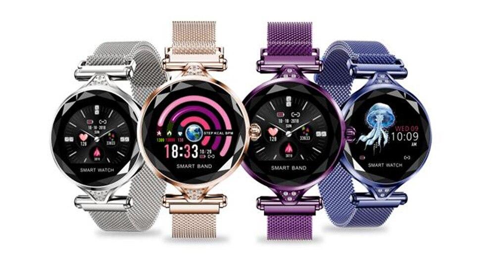 Tela Colorida Pulseira Relógio Presente dos Esportes das Mulheres