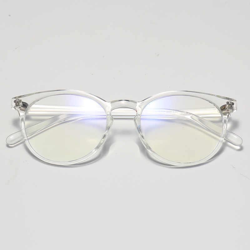 Gafas Ultraligero retro TR90 Metal transparentes sin presi/ón Anteojos Lente Claro Gafas Unisex