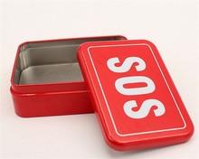 100 pcs Outdoor equipment survival box self-help box SOS equipment BOX