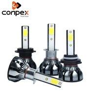 conpex 12v 32w Automobiles Car Lights Car Headlight LED CANBUS for Fiat Aegea Doblo 500 500c Punto stilo bravo siena ducato