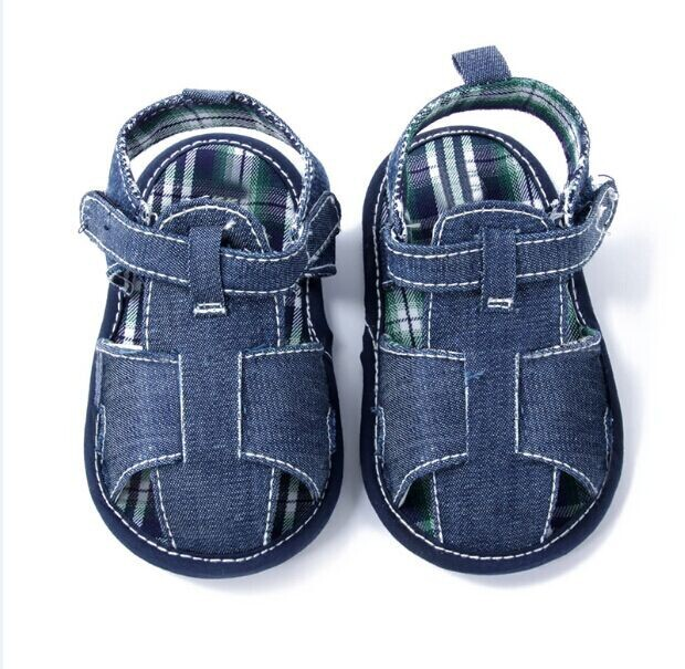 New Baby Boy Girl Sirst Walkers Cotton Kids Shoes Infant Soft Toddler Shoes Summer New P1