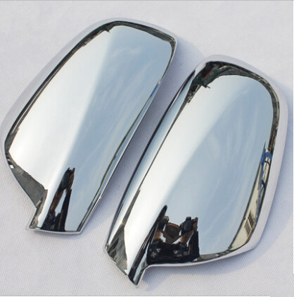 2pcs Per Set Fit For Peugeot 307 CC SW 407 Door Side Wing Mirror Chrome Cover Rear View Cap Accessories Car Styling