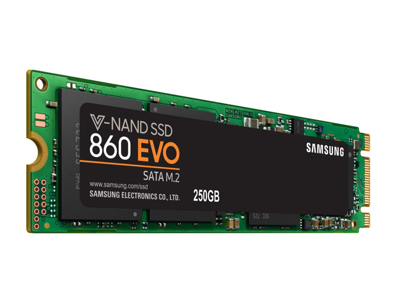 SAMSUNG 860 EVO M.2 250g 500g 250GB 500GB PC computer Desktop Laptop Internal Solid State Drives M.2 SATA6 GB/S SATA SSD