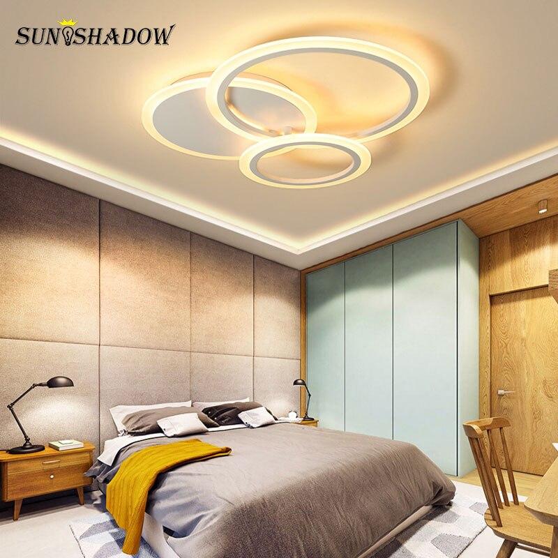 acrilico lustre lampada do teto luminarias led 04