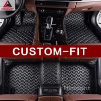 Custom fit car floor mat specially made for Toyota Highlander Land Cruiser 100 200 FJ Cruiser Hilux SW4 GT86 FT86 carpet rugs Floor Mats    -