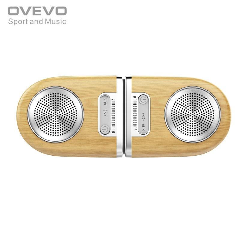 цена на Original OVEVO D10 Dual Magnetic Bluetooth Speaker Portable Wireless Soundbar High-end Outdoor Waterproof HiFi Subwoofer