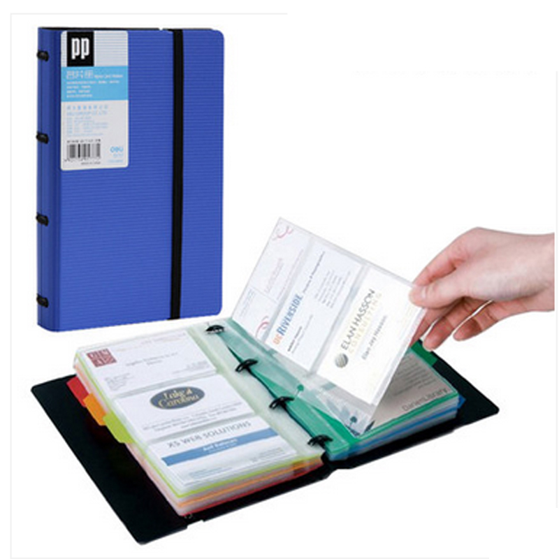 Deli Brand PP Unisex Id Card Holder 5 Colors Index Tag Card Wallet Credit Card Business Card Holder Protector Organizer 4D5777 non standard die cut plastic combo cards die cut greeting card one big card with 3 mini key tag card