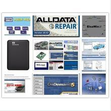 Alldata mitchell по запросу все данные 10,53+ mitchell по требованию+ ElsaWin+ Vivid workshop+ atsg 24 в 1 ТБ hdd usb3.0