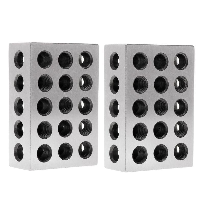 2pcs Hardened Steel Ultra Engineers Blocks Precision 1