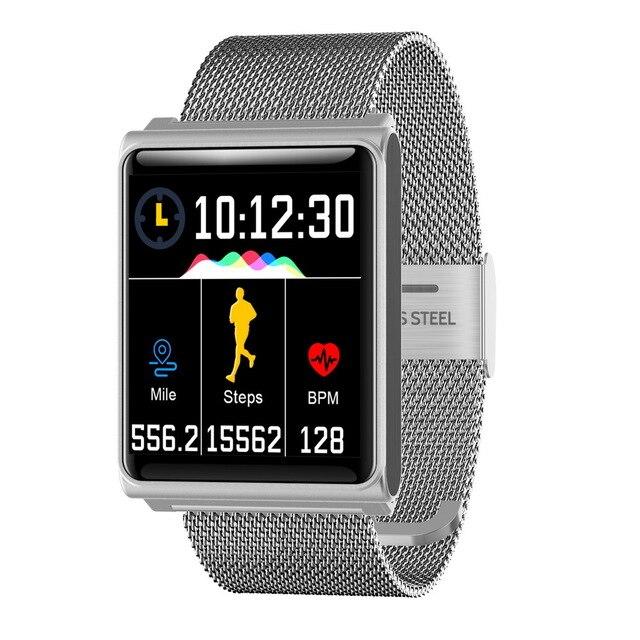 Bracelet intelligent N98 moniteur de fréquence cardiaque Sport Smartwatch montre de Fitness étanche Bracelet de mesure de la pression artérielle