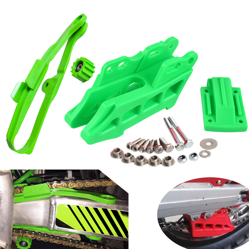 Swingarm Chain Slider Guard Chain Guide Guard Protector For Kawasaki KX250F KX450F KX 250F 450F 2009