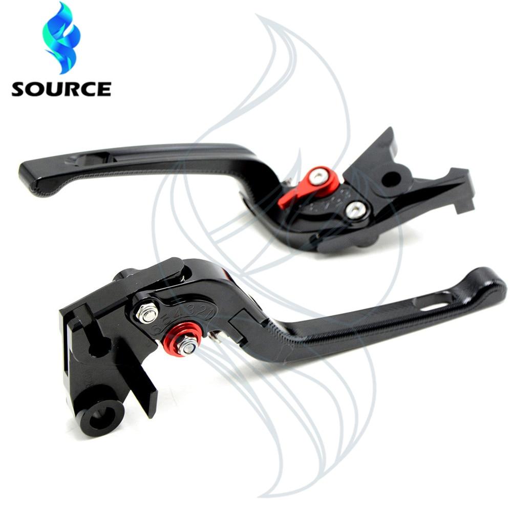 ФОТО motorcycle adjustable levers brake clutch cnc 3d folding For YAMAHA YZF R25 R15 R6 R125 kawasaki z750 Z800 z1000 FZ8 FZ1 FZ6R