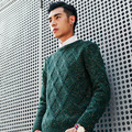 2017 Autumn Winter Men Sweaters and Pullovers O-neck  Long Sleeve Casual Sweater Knitted Male Sweater  XN027