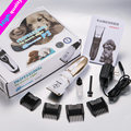 Profesional Pet Dog Hair Trimmer Grooming Clippers Animal Gato Cortadores Máquina Afeitadora Clipper Tijera Podadora Eléctrica 110-240 V AC