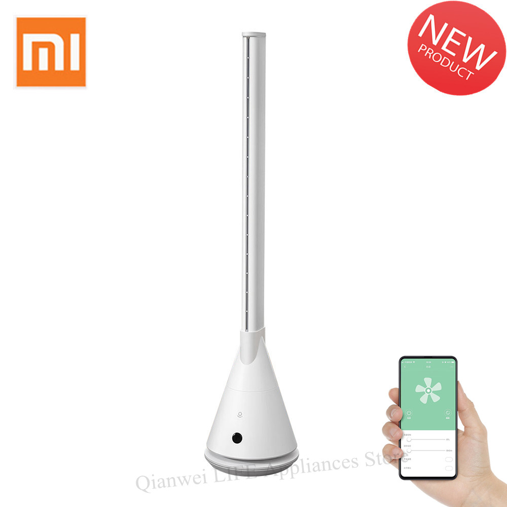 Xiaomi Mijia Rosou SS4 Intelligent Bladeless Fan APP Control Remote Control 11 Speed Natural Wind Timing Fan For Home Office