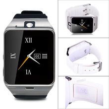 GV18 Smart Wrist Watch 1.5 inch Touch Screen Unlocked GSM SIM Support NFC Smartwatch For Android IOS iPhone HTC Samsung LG Sony