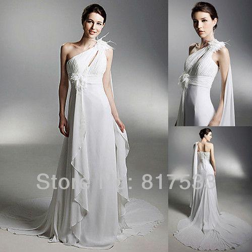 Goddess Wedding Dresses: Beach Wedding Dress 2013 Flowing Summer Dresses Greek