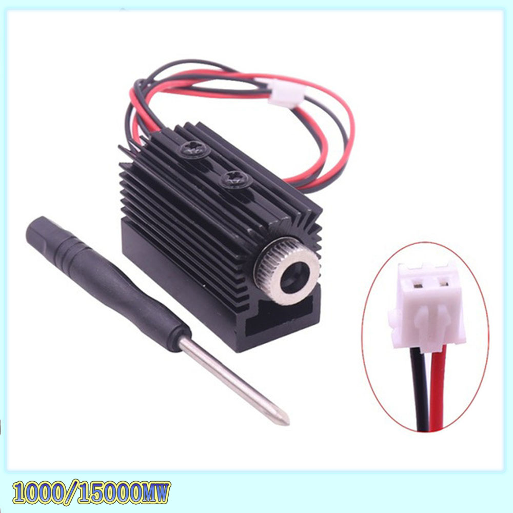 Ultraviolet Laser Head Laser Module 1000 MW 1500 MW 405nm For Laser Engraving Machine CNC Laser Engraving Machine