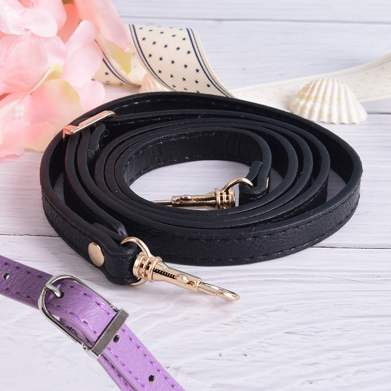 Women Girls Detachable Bag Handle Replacement Bags Strap Buckle Belts PU Leather Shoulder Bag Parts Accessories