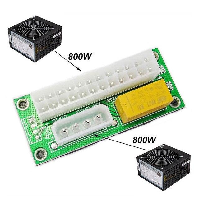 VONETS ATX 24Pin Dual Dreibettzimmer Stromversorgungsstecker Relais ...