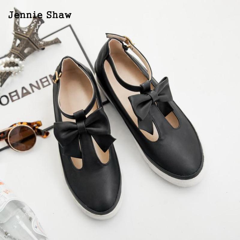 Mou Appartements noir Plat Fond Femmes blanc Doux Beige Chaussures Étudiants Arc lFc1JK