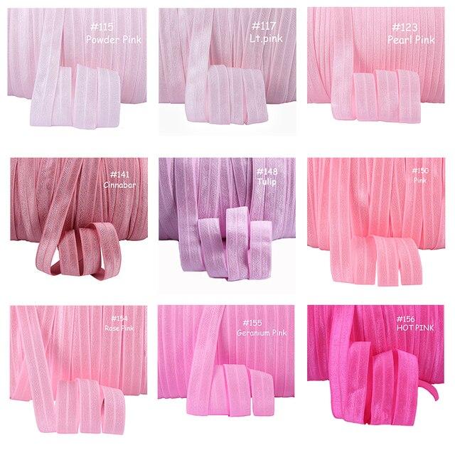 58 inch fold over elastic 100yardscolorroll 100 colors