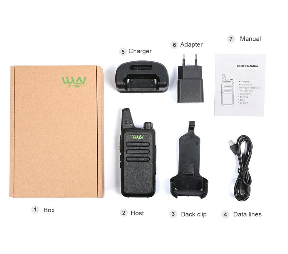 4 sztuk WLN KD C1 UHF 400 470 MHz MINI podręczny transceiver dwa sposób Ham Radio komunikator Walkie Walkie talkie stacji poręczny talky w Krótkofalówki od Telefony komórkowe i telekomunikacja na AliExpress - 11.11_Double 11Singles' Day 1