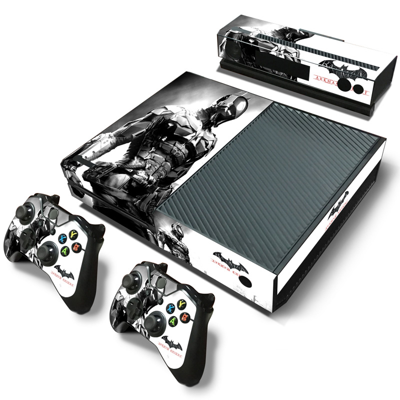 free drop shipping Girl Vinyl HD Picture Portective Sticker Decal 2 Gamepad Skins For XBOX ONE#TN-Xboxone-2291