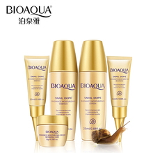 BIOAQUA 5pcs Skin Care Set Whitening Moisturizing Essence Lotion Eye Cream BB Creams Facial Acid Liquid Anti Wrinkle Day Cream