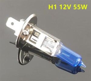 سيارة ضوء H1 H3 H4 H7 H8 H9 H11 9005 HB3 9006 HB4 السيارات مصباح هالوجين لمبة الضباب أضواء 55 W 100 W 12 V سوبر وايت المصابيح الأمامية مصباح