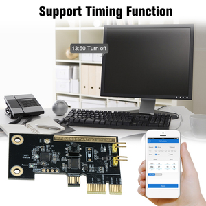 Image 3 - eWeLink Mini PCI e Desktop PC Remote Control Switch Card WiFi Wireless Smart Switch Relay Module Wireless Restart Switch