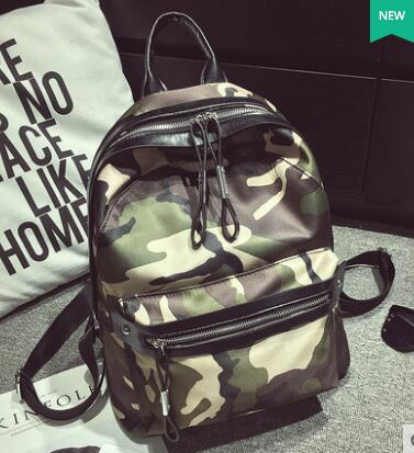 The new 2016 waterproof nylon backpack female BaoChao contracted joker fashion canvas leisure travel bag
