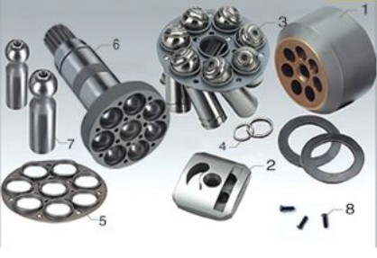 Repair kit Rexroth Piston Pump Parts A7VO28 plunger pump cylinder block valve plate accessories spare parts rexroth repair kits hydraulic piston pump parts a10vso85 valve plate saddle bearing seal kit spare parts