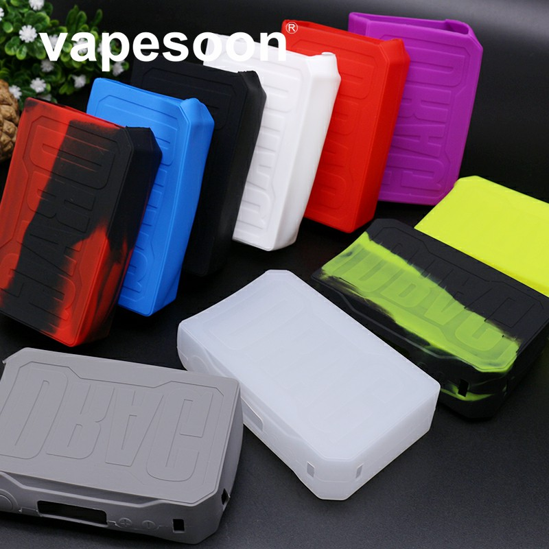 VOOPOO Drag 157W Silicone Case Thicker Skin Cover Protector For Drag 157 Mod Decal Dustproof Retail Package
