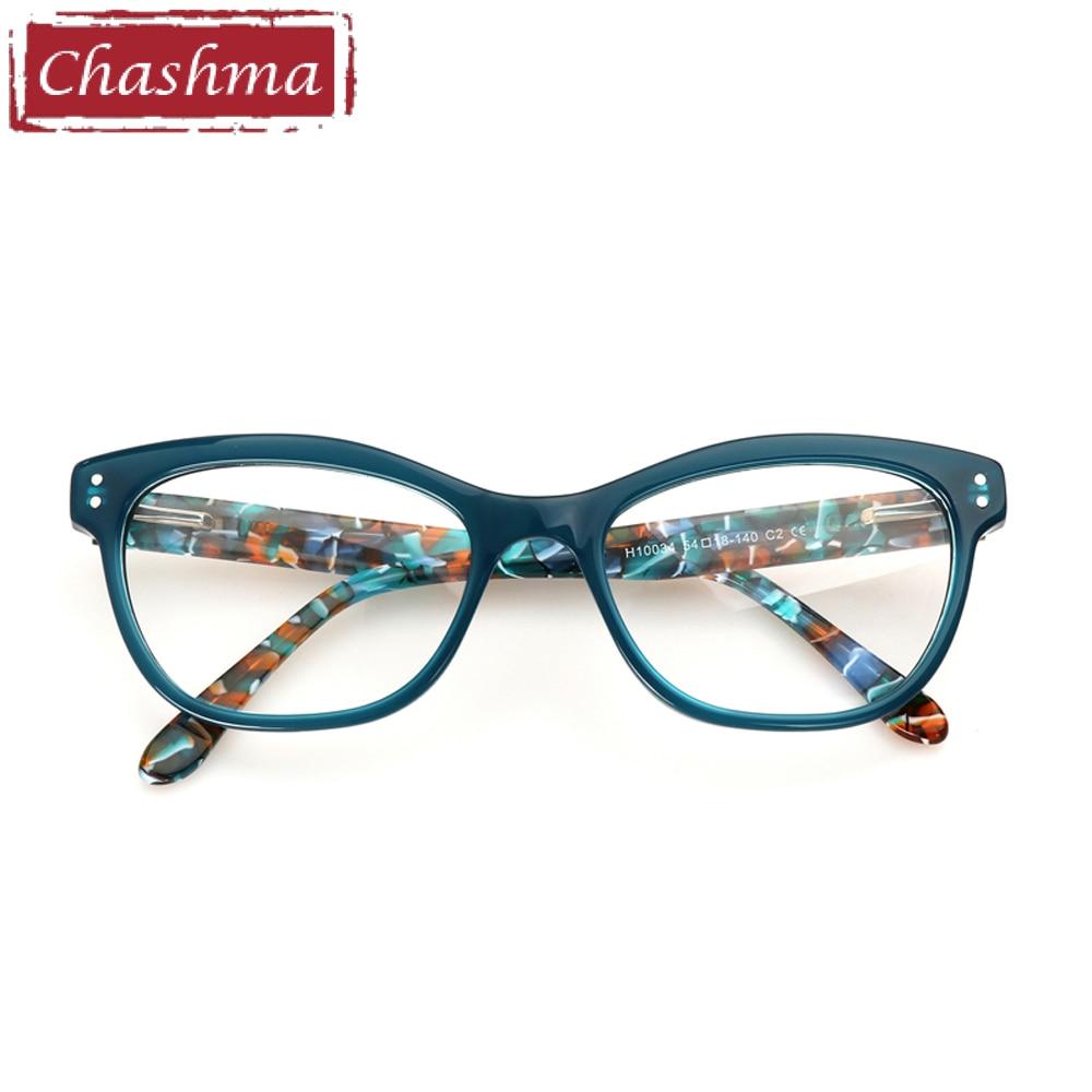 4fcae1fbca Chashma Brand Acetate Material Female Eyewear Fashion Trend Stylish Student  Prescription Glasses Frame Women Optical Eye Glasses-in Eyewear Frames from  ...